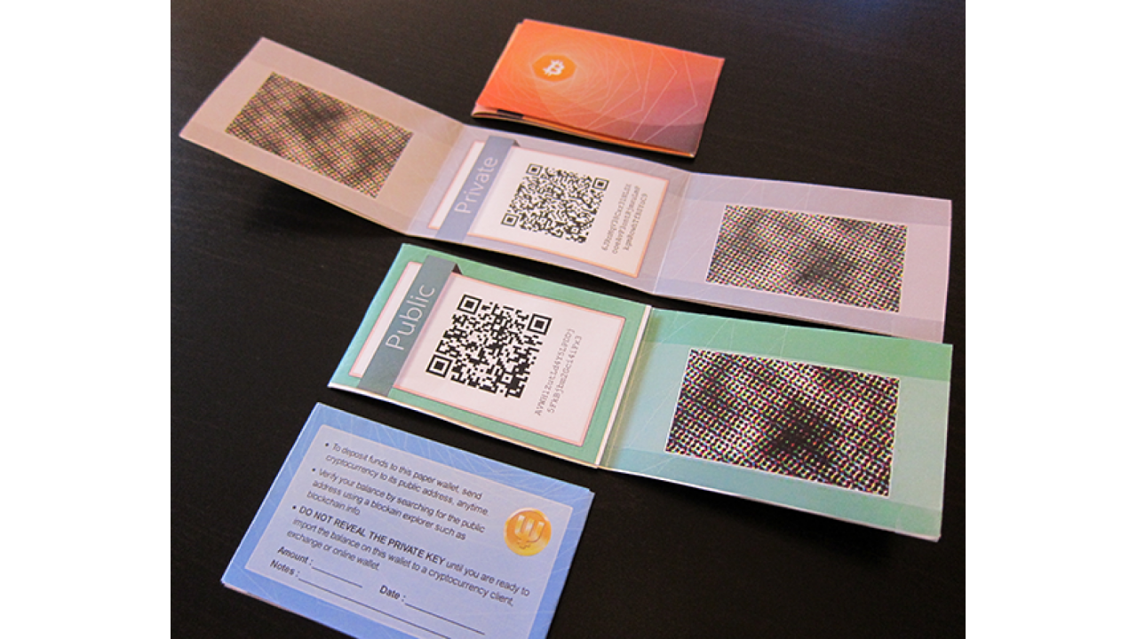 All About Paper Wallet